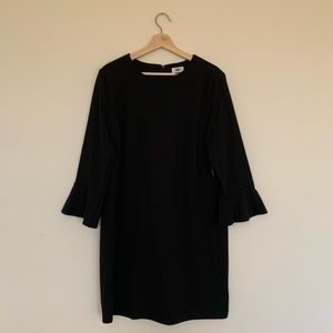 Shift dress with bell sleeves NWT